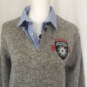 Tommy Hilfiger Winter Games Sweater Womens Navy